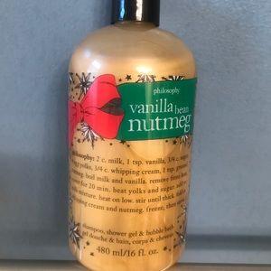 Other - Philosophy vanilla bean nutmeg